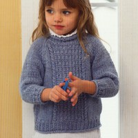 2721 Child's Aran Sweater