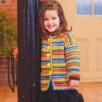 2726 Child's Garter Ridge Cardigan