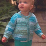 Plymouth Yarn 2802 Baby Cardigan