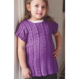 Plymouth Yarn 2854 Girl's Dress