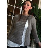 Plymouth Yarn 2884 Women's Asymmetrical Cardigan