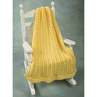 F440 Encore Chunky Lace Baby Throw (Free)