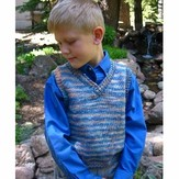 Knitting Pure & Simple 256 Basic Vest For Children