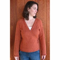 263 Wrap Cardigan Top Down