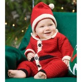 Red Heart Infant Santa Suit and Hat (Free)