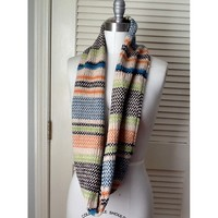 RISD Day of Creativity - Linen Striped Cowl