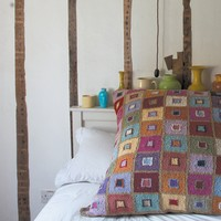 Madras Throw & Cushion (Free)