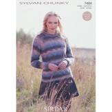 Sirdar 7484 Sweaters in Sylvan