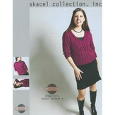 Skacel Cabled V-Neck