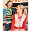 Spud & Chloë by Blue Sky Fibers 9519 School Colors Hoodie - 9519pdf
