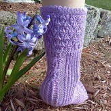 Steppingstone Fiber Creations Spring Blooms Mystery Socks (Free)