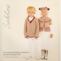 643 The Second Sublime Children's Double Knitting Book