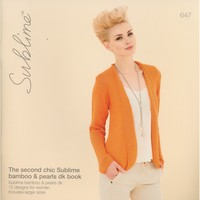 647 The Second Chic Sublime Bamboo & Pearls DK Book