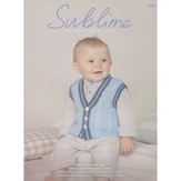 Sublime 693 The Sixth Sublime Baby 4 Ply Hand Knit Book
