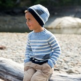 Swans Island Fin Sweater & Hat Set PDF