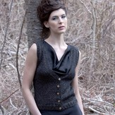Stacy Charles Fine Yarns Josephine Vest (Free)