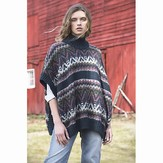 Tahki Yarns Mountainside Poncho PDF