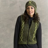 Tahki Yarns Dickens Vest and Helmet PDF