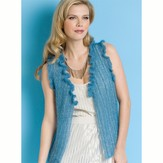 Stacy Charles Fine Yarns Nicole Ruffled Vest PDF