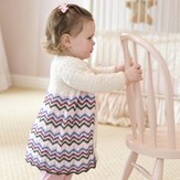 Tahki Yarns Chevron Swing Coat PDF