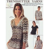 Trendsetter Yarns 4801B A Passion for Pullovers Book #2