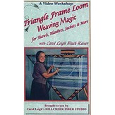 Triangle Frame Loom Weaving Magic DVD