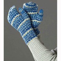 Adult's Sparkling Winter Mittens (Free)