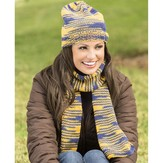 Universal Yarn Team Spirit Hat and Scarf (Free)