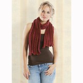 Universal Yarn Poppies Scarf PDF