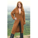 Valley Yarns 233 Landslide Long Coat PDF