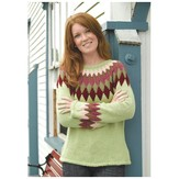 Valley Yarns 234 Harlequin Yoke Pullover