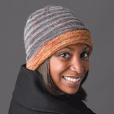 Valley Yarns 345 Silver Lining Hat