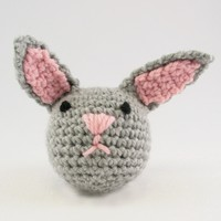 368 Crocheted Rabbit (Free)