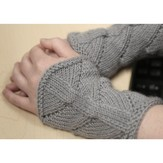 Valley Yarns 377 Phytolith Fingerless Mitts (Free)
