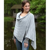 Valley Yarns 398 Beveled Silver Scarf and Wrap
