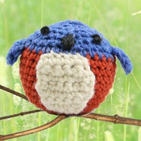 401 Crocheted Bluebird (Free)