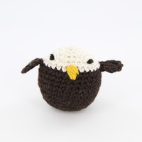 411 Crocheted Bald Eagle (Free)