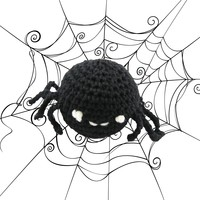 443 Crocheted Spider (Free)
