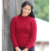 Valley Yarns 495 Rudhira Pullover