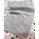 Valley Yarns 567 Maria Baby Blanket