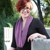 Valley Yarns 572 Pickwick Cowl  - 572