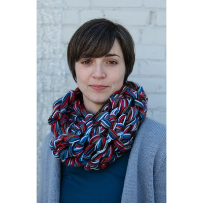 Valley Yarns 594 Finger Crochet Cowl/Scarf (Free) at WEBS ...