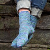 Valley Yarns 624 Cobblestone Socks