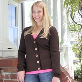 Valley Yarns B9 Basic Set-in Sleeve Cardigan