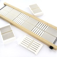 Variable Dent Rigid Heddle Flip Loom Reeds