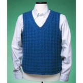 Vermont Fiber Designs 151 Textured V-neck Vest