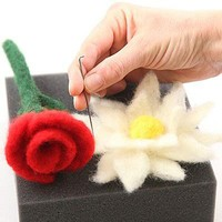 Needle Felting - Flowers and Fruits