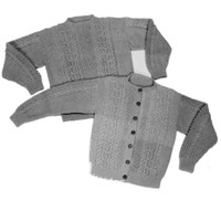 20 Adult's Aran Sweater Pullover or Cardigan