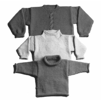 Yankee Knitter Designs 30 Easy Bulky Sweater for the ...