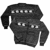 Yankee Knitter Designs 7 Women's Sheep Sweater Pullover or Cardigan